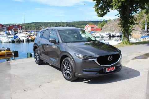 OPPGRADERT: Nye Mazda CX-5 er forbedret innenfor viktige områder som sikkerhet, komfort og design.