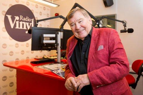 OSLO: Programleder Vidar Lønn-Arnesen åpner radiokanalen Vinyl som kun spiller sanger fra 50-, 60- og 70-tallet. Bauer Media står bak den nye kanalen som sendes på DAB-nettet.