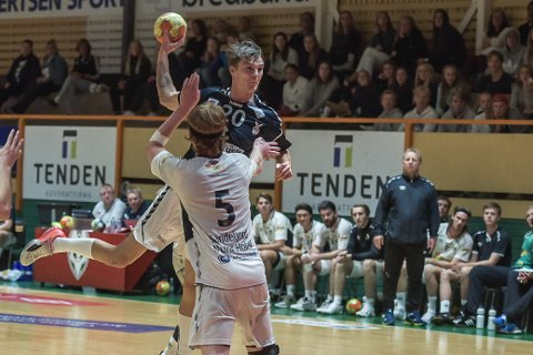GIR SEG: Eskil Overvik har for nå spilt sin siste håndballkamp.