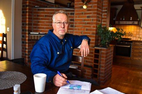 NYTT FORSLAG: Thomas Nilsen-Aas har på vegne av flere grunneiere på Nykirke foreslått å benytte Skaaneveien som ny gang- og sykkelvei framfor å bygge en helt ny gang- og sykkelvei langs hovedveien mot E18 og Kopstad.