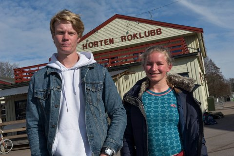 TIL FRANKRIKE: Nicolai Enstad Haraldseth og Mia Helene Falch er tatt ut til EM.