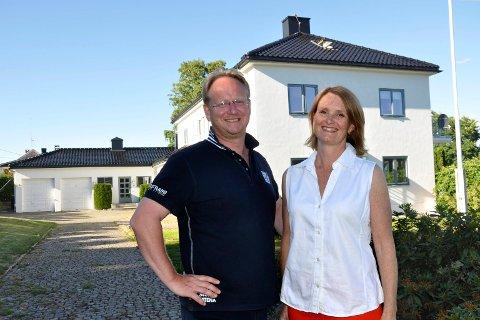 Per-Christian Willoch Fett og Gunn Valmestad bor i Bullhuset.