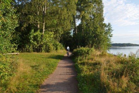 UT PÅ TUR: Kyststien er blant alternativene i Vestfold som man kan gi sin stemme til.