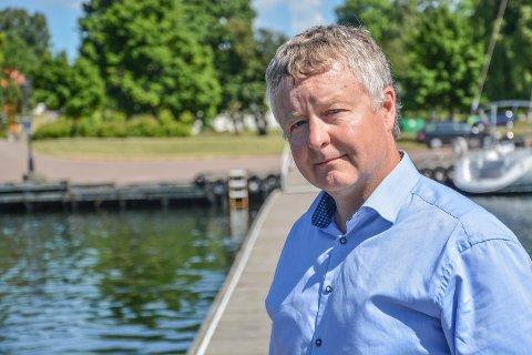 HAVNEPLANEN: Ordfører Are Karlsen minner om at alle får komme med innspill til havneplanen.