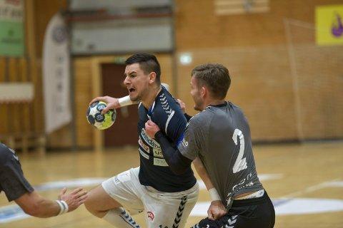 SOM VANLIG: Stefan Ilic fortsatt slik han holdt på forrige sesongen, og ble Falks toppscorer mot Drammen med ti mål.