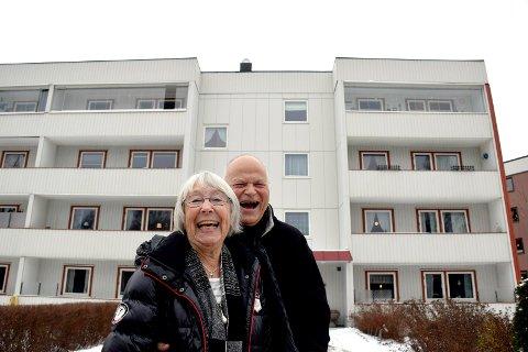 Gunnhild og Gunnar Rio bor i Bekkegata