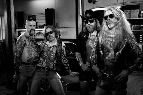 VETERANER: Black Debbath er et band folk i Horten har sett og hør mange ganger tidligere.