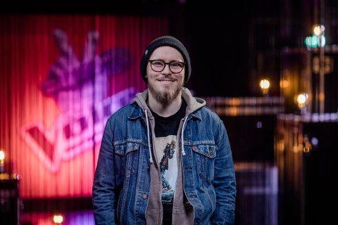 KLAR: Oskar Øiestad fra Nøtterøy er klar for å prøve å ta seg videre i The Voice fredag kveld.