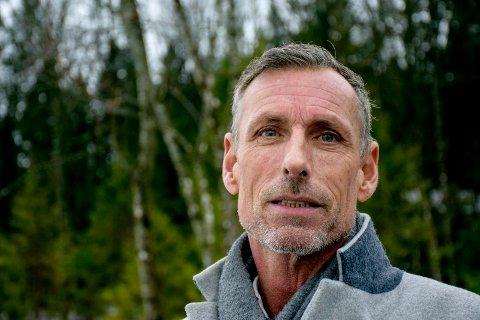 I SALGSMODUS: Bjørn Christiansen har nå fått flere henvendelser fra folk som vil kjøpe Sletterødåsen.