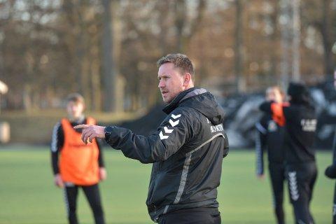 OPTIMIST: Ørn-trener Kjell André Thu håper og tror at han trener A-laget til Ørn også kommende sesong.