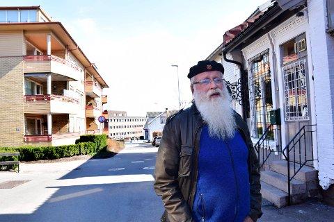 FORNØYD - TROSS ALT: Alf Henriksens forslag om å lage en verneplan for Horten sentrum ble enstemmig vedtatt i kommunestyret.