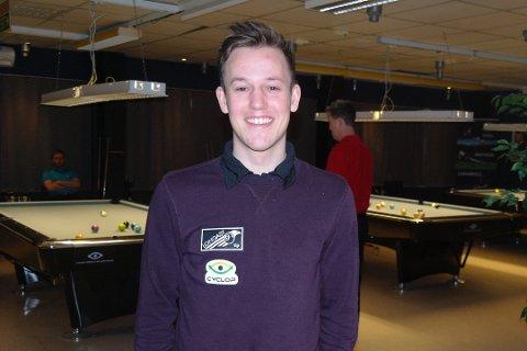 EM: Eirik Riisnæs drømte om EM-deltakelse i 2019, det har ikke gått helt etter planen for ham under første del av EM i biljard.