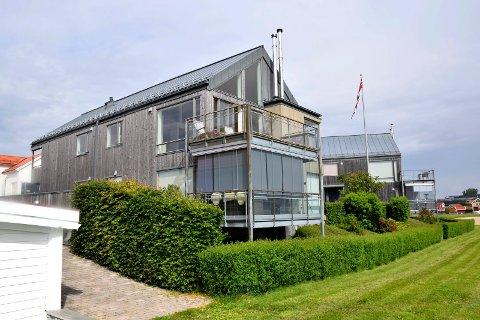 SOLGT: Leiligheten i andre etasje ble solgt til et par fra Oslo, for 8.750.000 kroner, 250.000 under prisantydning.