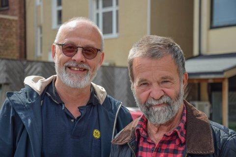 ENIGE: Michael Bo Bergman fra SV og Terje Johansen fra Arbeiderpartiet er glade for at det ble enstemmig vedtak om å holde barnetrygden utenfor regnestykke for familier som mottar sosialstøtte.