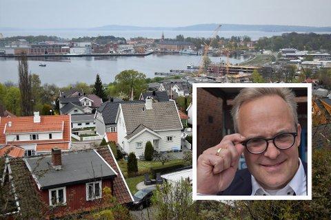 SKAL STOPPE FLERE: Det skal bli vanskeligere å drive ulovlig utleie av boliger i Horten. Enhetsleder Lasse Henriksen (innfelt) har fått økte ressurser for å sørge for mer orden og trygghet på boligmarkedet.