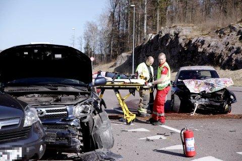 DØDSULYKKER: Sommermånedene har historisk sett vært preget av mange trafikkulykker med dødelige utfall.