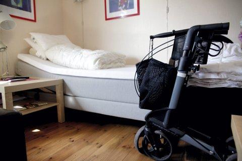 FÆRRE PLASSER: Etter 2015 har det ikke kommet flere sykehjemsplasser, men færre, sier Bjørn-Kristian Svendsrud (Frp). Han anklager Arbeiderpartiet for løftebrudd.