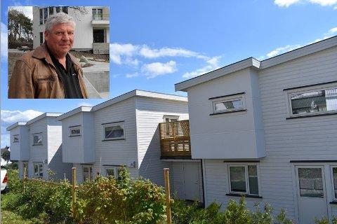 FORTVILET: Byggmester Knut Langaas blir ordentlig frustrert over kommunens håndtering av situasjonen i Langgate.