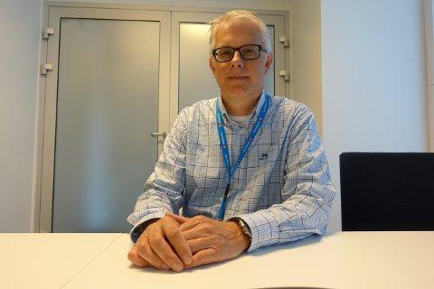 VIL BLI VANSKELIGERE FOR ENKELTE Å FÅ LÅN: Lars Anders Berg, (53), lokalbanksjef for Horten og Holmestrand i Sparebank1 BV, utdyper betydningen av de nye gjeldsregistrene for Hortens beboere.