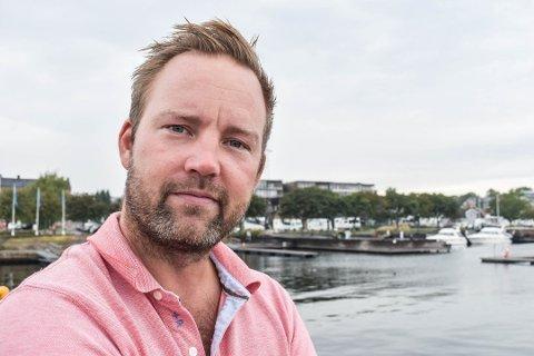 PAUSE:  Høyres gruppeleder Niklas Cederby opplever så mye kjør i saken om Gamlehorten gjestegård at han nå tar en pause fra politikken.