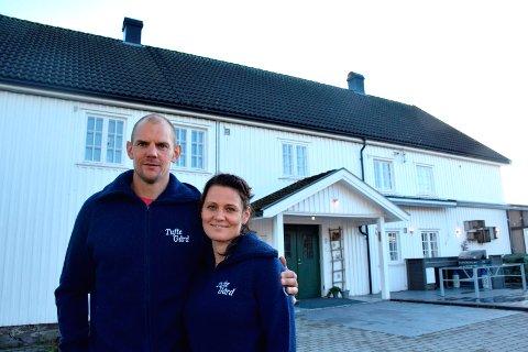 FAMILIERÅD: Aina og Olaf Tufte har sammen blitt enige om OL.