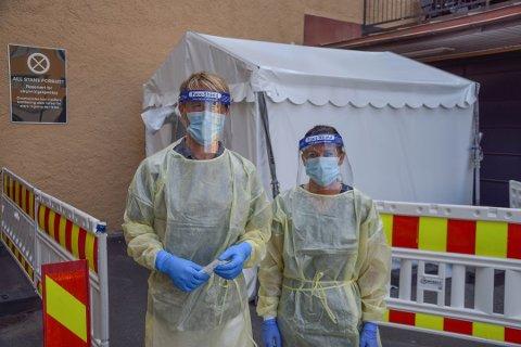 MANGE LAR SEG TESTE: Forrige uke ble over 10.000 personer i vårt fylke testet for koronaviruset.