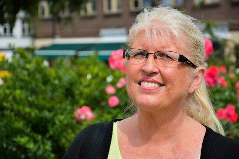 VIL RYDDE OPP: Trine Aakermann (H) reagerte da hun leste om at rullestolgruppa til Horten Rugbyklubb ikke lenger får trene i Hortenshallen.