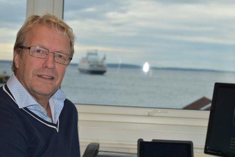 UTBYTTE: - Nå kan kommunen som eier ta ut utbytte fra havnevirksomheten. Det kan komme innbyggerne til gode, sier havnefogd Espen Eliassen.