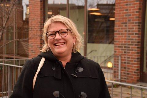 SIER JA: Varaordfører Christina Bratli er glad for å kunne si ha til Biltema-etablering i Horten.