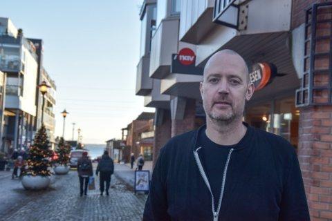 RUSTER OPP: Kristian Aas og Nav Horten skal styrke oppfølgingen av unge arbeidsledige.