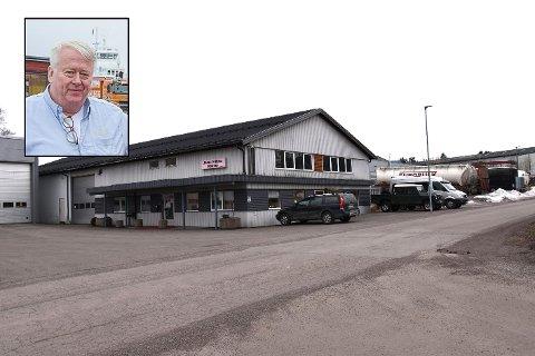 AVSLUTTET KAPITEL: Jan Stiansen har skaffet nye eiere til sine lokaler på Tverrmyra.