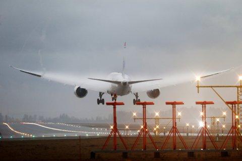 ØKNING: 75.000 mennesker fløy fra en av Avinors flyplasser palmehelgen.