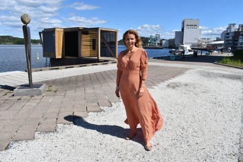 BORRE-JENTE: Kjerstin Wøyen Funderud er valgt inn på Stortinget fra Østfold. Men Horten kommune har en helt spesiell plass i hjertet hennes.