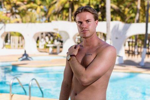 PARADISE-DELTAKER: Stian Trulsen fra Nykirke og Horten er med i den 15. sesongen av realityserien.