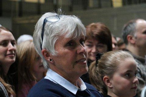 Bjørg Bjelland pleier hvert år å ta barnebarna med på forestillingen.
