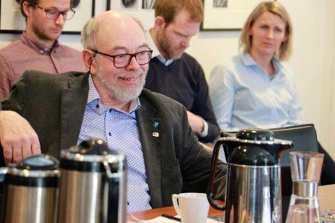 Varaordførar Henry Tendenes frå Høgre fekk full tilslutning til forslaget han la fram.