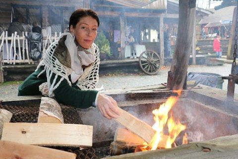 Elin Hakvåg skulle egentlig vært i full gang med å forberede årets julemarked i Westernbyen. Det 12 i rekken. I år er det avlyst.