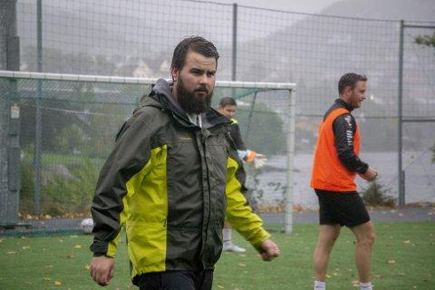 Gjesdal FK-trener Eivind Frafjord har ambisjoner om at laget skal være med å kjempe i toppen av 6. divisjon.