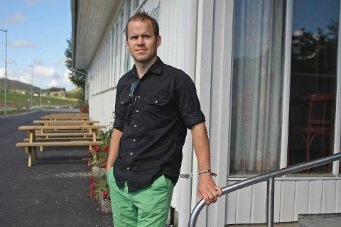 Vidar Nedrebø i Gjesdal Senterparti deltok nyleg på landsmøtet til partiet.