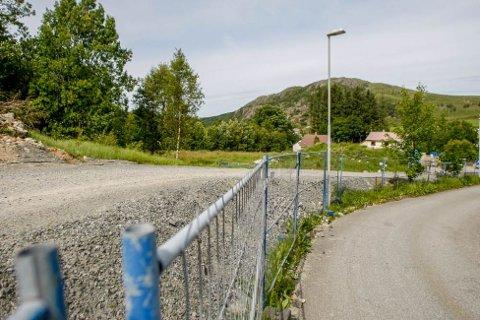 På denne tomta ved Figgjo barnehage har Østerhus planer om et nytt boligfelt (arkivfoto: Bjarte Espedokken).