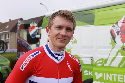 Daniel Hoelgaard er blant de norske syklistene som skal delta i EM i landeveissykling i Herning i begynnelsen av august.