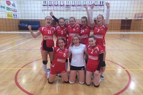 Gjesdals volleyballjenter ble regionsmestere på hjemmebane.