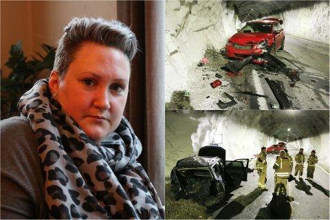 Lille nyttårsaften havnet Gølin Hege Frafjord midt oppe i en dramatisk trafikkulykke. Nå slår hun alarm om sikkerheten i Frafjordtunnelen.