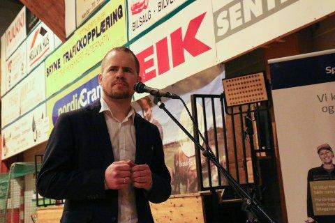 VIdar Nedrebø er innstilt som ny fylkesleder for Senterpartiet i Rogaland.