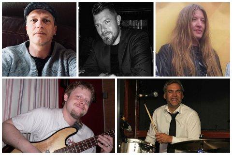 Tommy Grude, Krister Tofteberg, Ove Morten Grødeland, Carl Ørjan Sola og Arne Bekkeheien debuterer med bandet «Fake News».