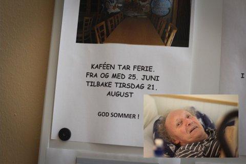 Beboer Hans Ingolf Høie ved Åboas ber om flere sommeråpne aktivitetstilbud for eldre.
