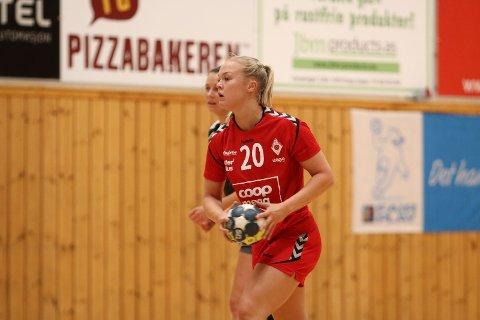Kaptein Maren Eiken Ravndal ble kåret til Ålgårds beste i debutkampen i 1. divisjon. Søndag er Stabæk motstander på bortebane.