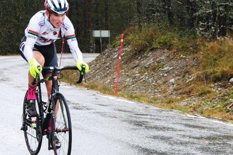 Sandnes-syklist og norgesmester Per Hagenes var raskest på 4,5 kilometer til Giljastølen i bare motbakke.