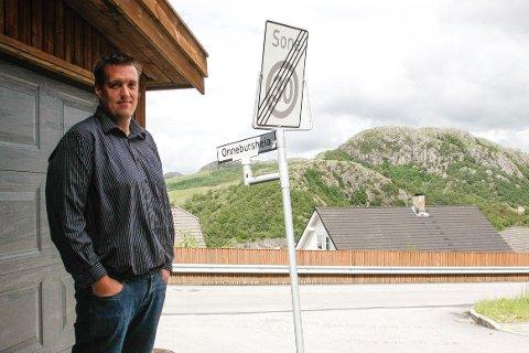 Knut-Morten Ødegård og de andre beboerne i Onnebursheia har nå fått ny adresse (arkivfoto: Rebecca Bjerga).