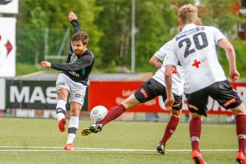 Alexander Mar Hallgrimson er på vei vekk fra Ålgård.